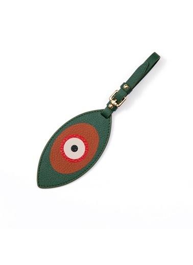 Madame Malachite Göz Bavul Etiketi  Yeşil